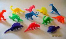 12 COLORFUL HARD PLASTIC DINOSAUR BIRD PARROT CHEW TOY PART KIDS TOY PARTY FAVOR