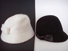 Winter White Nine West & Black Steve Madden Hats ~ New with Tags ~ From Macy's