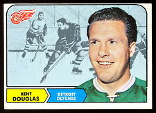 1968 69 TOPPS HOCKEY #26 KENT DOUGLAS EX-NM DETROIT RED WINGS FREE SHIP TO USA