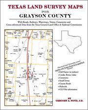 Grayson County Texas Land Survey Maps Genealogy History