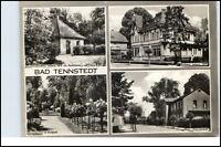 BAD TENNSTEDT Thüringen Mehrbild-AK DDR ca. 1970 ua. Haus Freundschaft, Kurhaus