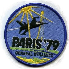FIGHTING FALCON F-16 FIGHTER PATCH COLLECTIONS: '79 Paris Air Show Introduction