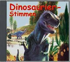 CD: Dinosaurierstimmen,Geräusche aus der Urzeit! Saurierstimmen, Saurier-Stimmen