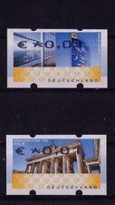 Bund-ATM 6 und 7 FI (Werteindruck oben statt unten) postfrisch
