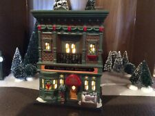 Dept 56 christmas In the city Fulton Fish House