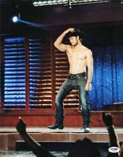 Alex Pettyfer Magic Mike Signed Authentic 11X14 Photo PSA/DNA #S37893