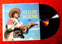 LP Folklore Mexicano Vol. 1 (Musart D 890) Mexico