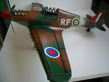 HAND CRAFTED TIN PLATE VINTAGE STYLE HURRICANE PLANE  APPROX  27cm GREAT GIFT