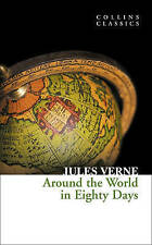 NEW BOOK Around the World in Eighty Days by Jules Verne (Paperback)