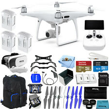 "DJI Phantom 4 Pro+ Drone W/ 5.5"" 1080p Display! 3 Battery MEGA PRO ACCESSORY KIT"