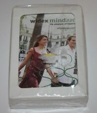Deck of Playing Cards Swap Cards sealed new Advertising Widex hearing aids