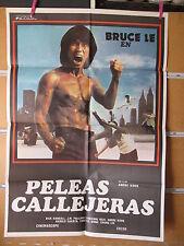 A1116   PELEAS CALLEJERAS, BRUCE LEE, Kung fu, artes marciales