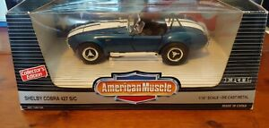 American Muscle Shelby Cobra 427 Collector's Edition Diecast Scale 1:18