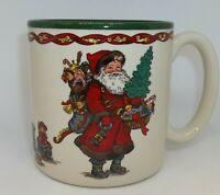 Kris Kringle Santa Claus Christmas Coffee Cup Mugs