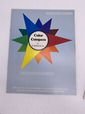 Grumbacher Color Compass Color Mixing & Selecting Wheel Rare Collectible