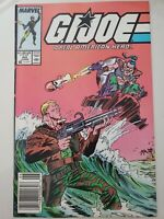 G.I. JOE A REAL AMERICAN HERO #60 (1987) McFARLANE ART! 1ST CHUCKLES! NEWSSTAND!