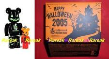 Medicom Be@rbrick 2005 Happy Halloween 100% & 50% Trick or Treat Bearbrick Set