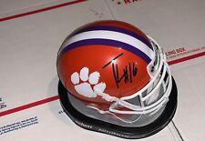 University of Clemson signed mini helmet quarterback Trevor Lawrence