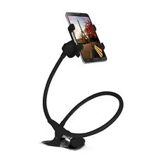 Flexible Long Arms Lazy Stand Clip Holder For Mobile Phone Tablet Desktop Bed UK
