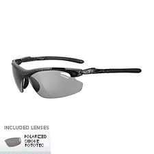 Tifosi 1120600761 Tyrant 2.0 Polarized Fototec Sunglasses - Carbon