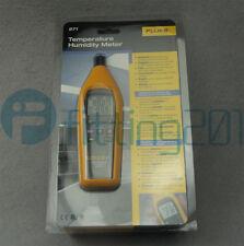 1PCS Fluke 971 Temperature Humidity Meter Tester Psychrometer 99 Record Capacity
