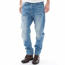 "G-Star Raw Mens Type C 3D Loose Tapered Jeans 30"" x 32"" BNWT Re Denim Light Aged"