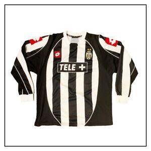 maglia Juventus ufficiale 2002/03_lotto_bianconera_size M_usata buone condizion