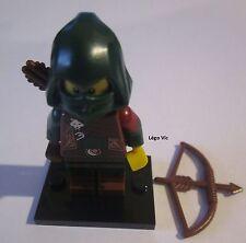 Légo 71013 Minifig Figurine Série 16 Rogue Robin des Bois Voyou + socle