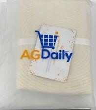 Large Cotton Rope Basket Laundry Baby Nursery Heavy Duty Quality