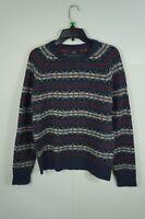 J. Crew Men Sweater Pullover 100% Lambswool Fair Isle  L