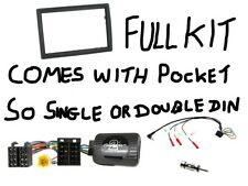 CTKRT01 Renault Megane 06 - 08 Complete Double or Single Din Stereo Fitting Kit