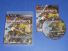 Uncharted 3 Drake's Deception Spiel Des Jahres Edition PS3 Playstation 3 GOTY