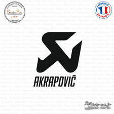Sticker Akrapovic Logo Decal Aufkleber Pegatinas AKR01 Couleurs au choix