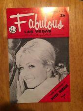 Fabulous Las Vegas Magazine Peter Hurkos Sephany Courtney Al Dobritch 11/7/1970