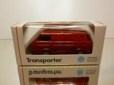 SCHABAK VW VOLKSWAGEN T3 TRANSPORTER SYNCRO - 1:43 - EXCELLENT IN DEALER BOX
