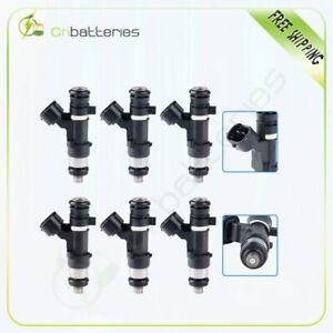 6 Fuel Injectors For 2004-2006 Altima 2004-2009 Quest V6 3.5L 0280158005