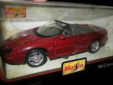 1:25 Maisto Chevrolet Camaro Z28 1996 rot/red in OVP