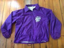 """Vtg Purple Moose Saloon Ocean City MD Windbreaker Parka Jacket USA XL 52"""""""
