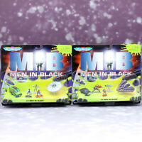 MEN IN BLACK MIB GALOOB MICRO MACHINES COLLECTION 2 & 4 Set Figure 1997 Vintage