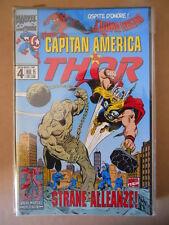 CAPITAN AMERICA & THOR n°4 1995 Marvel Italia  [G696]
