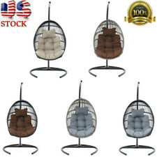 New ListingSwing Hanging Egg Chair Garden Yard Patio Outdoor Porch Hammock Rattan Furniture
