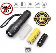 LED Zoom Flashlight X900 Tactical Shadowhawk Super Bright Torch 5 Light Modes