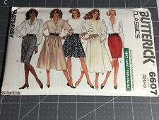VINTAGE BUTTERICK CLASSICS FAST & EASY SKIRT PATTERNS