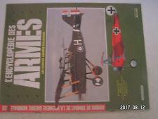 **a2 Encyclopédie des armes N°20 Avions de combat de la 1ere guerre mondiale
