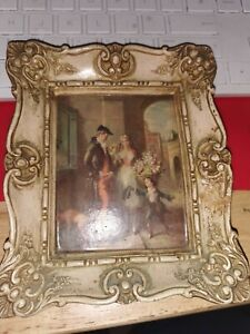 Cries Of Old London (Fresh Flowers) By V De Beauvoir Ward In Ceramic Frame # 1b