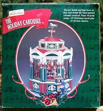 Vintage 1999 by Mr. Christmas - The Holiday Carousel - 50 Tunes - Animated