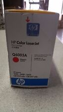 Genuine HP Q6003A Magenta Toner for HP Colour LJ 1600, 2600, 2605  See Photos