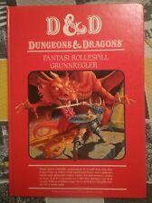 Dungeons & Dragons Basic Set Red Box Norwegian Language Version TSR