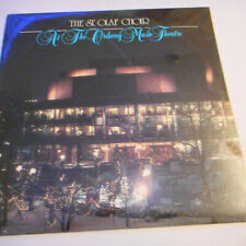 St. Olaf College At The Ordway Music Theatre SEALED  LP VINYL1985