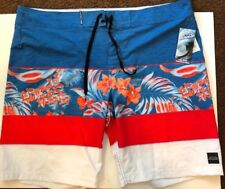 Pipeline Men's Size 42 Blue/orange Performance Board Shorts NWT Style YM024